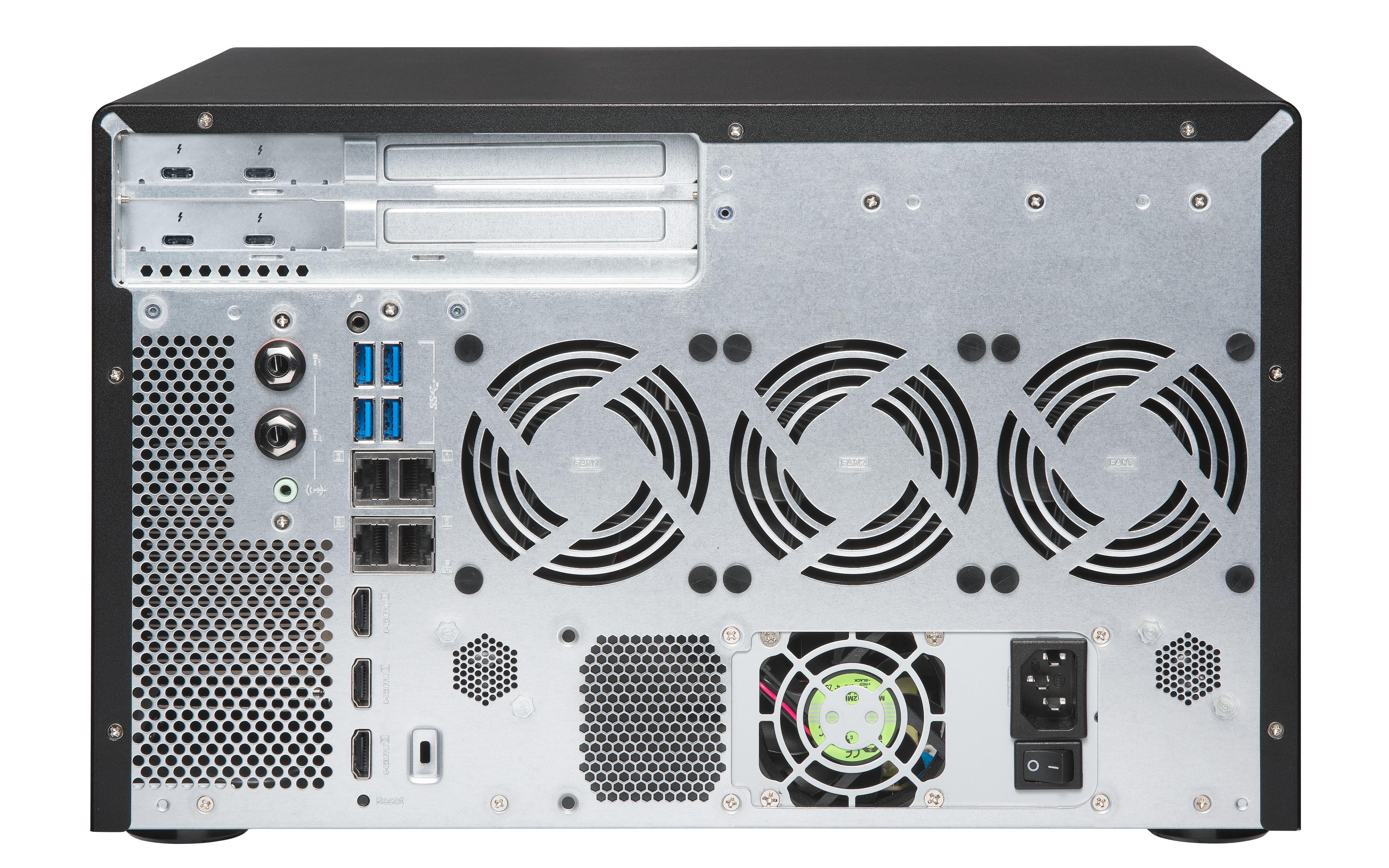 QNAP TVS-882BRT3-i5-16G - Real Solutions Haarlem