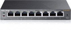TP-LINK TL-SG108PE 8-Port Gigabit Easy Smart Switch
