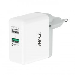 iWalk Leopard DUO 30 Dual USB Charger