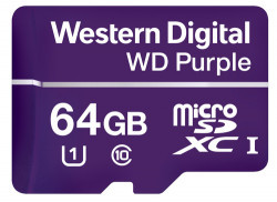 64GB Western Digital Purple Surveillance microSDXC